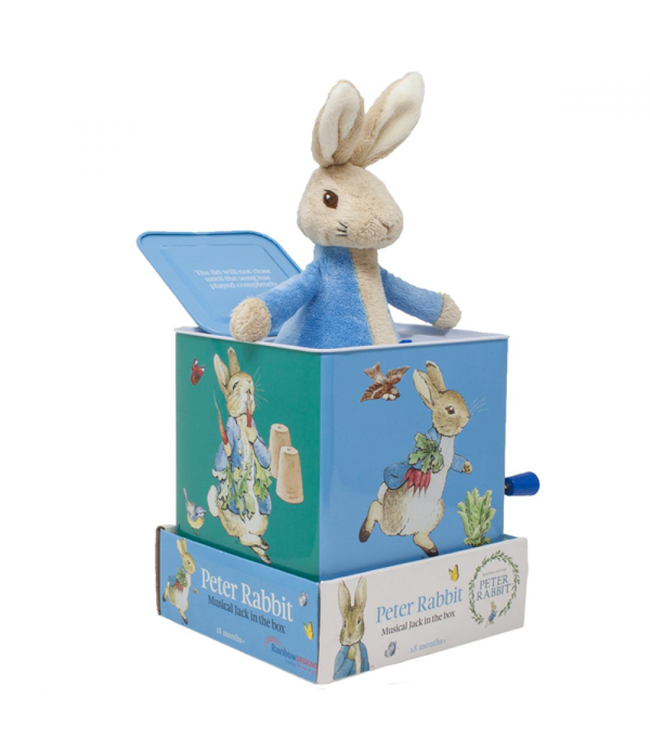 PETER RABBIT-JACK IN A BOX