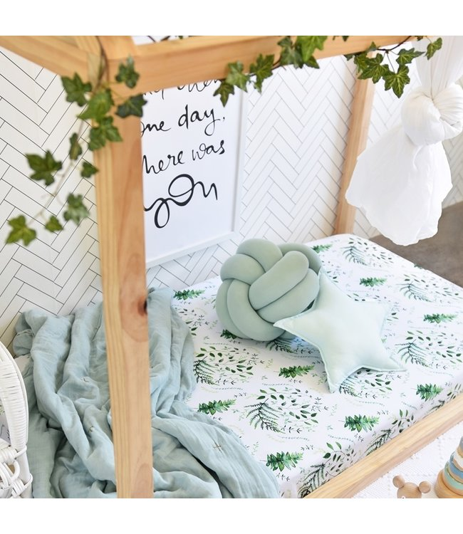 SNUGGLE HUNNY KIDS ENCHANTED - FITTED COT SHEET