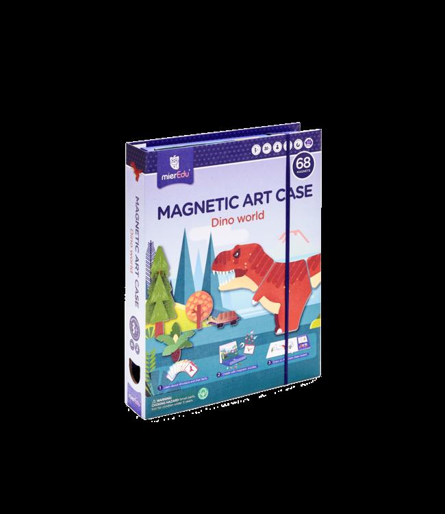MAGNETIC ART CASE - DINO WORLD