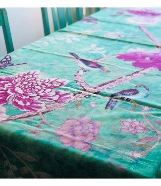 Anna Chandler Designs CHINOISERIE - CANVAS TABLECLOTH