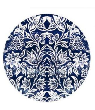Anna Chandler Designs SPICE ISLAND INDIGO - DINNER PLATE SET