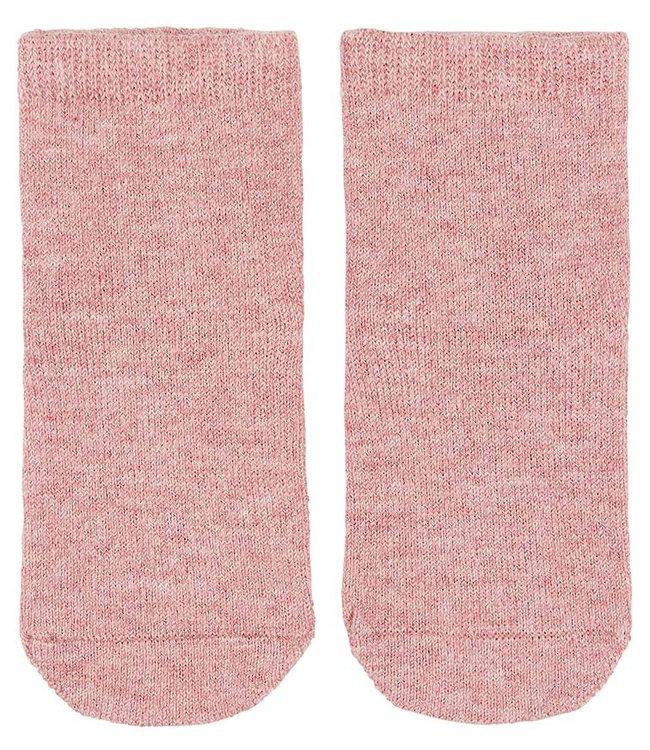 Toshi ORGANIC BABY SOCKS - WILD ROSE