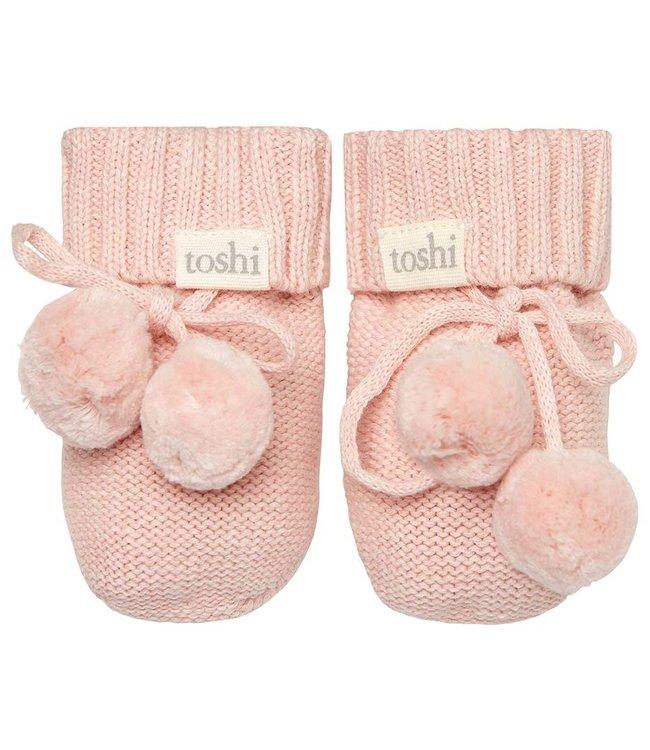 Toshi ORGANIC BOOTIES - MARLEY  PEONY 000