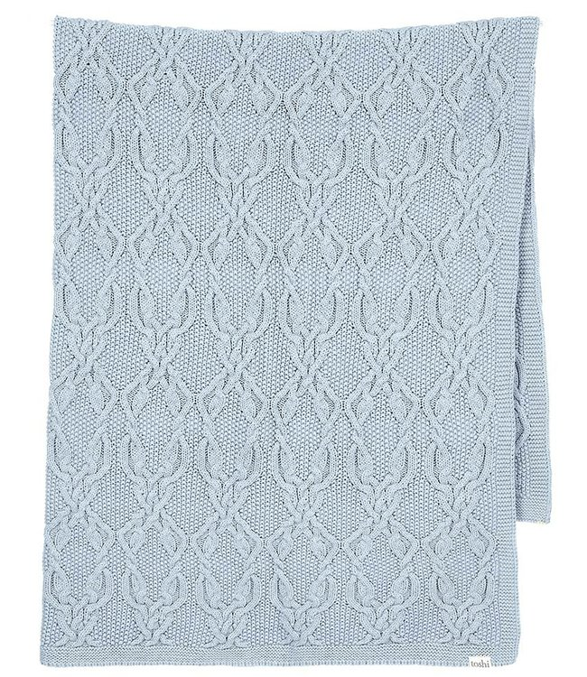 Toshi ORGANIC BOWIE BLANKET - TIDE