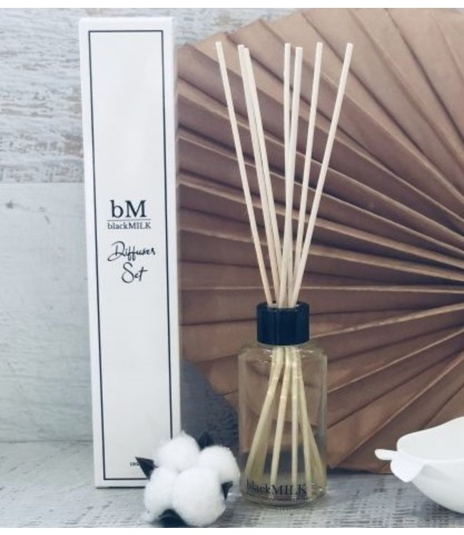 BlackMilk REED DIFFUSER SET - LIME & COCONUT