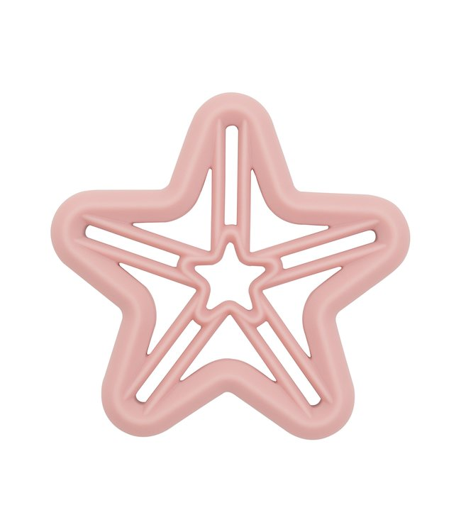 STAR TEETHER - DUSTY PINK