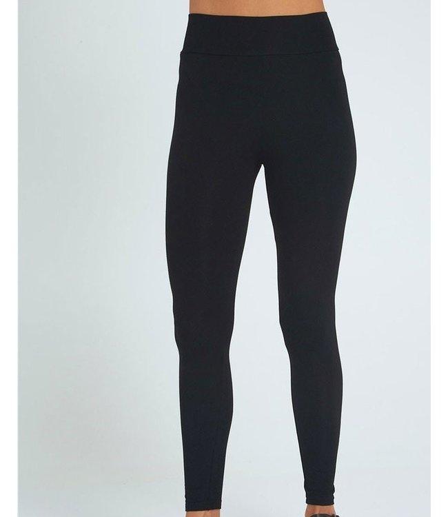 BAMBOO LEGGINGS - LONG - BLACK