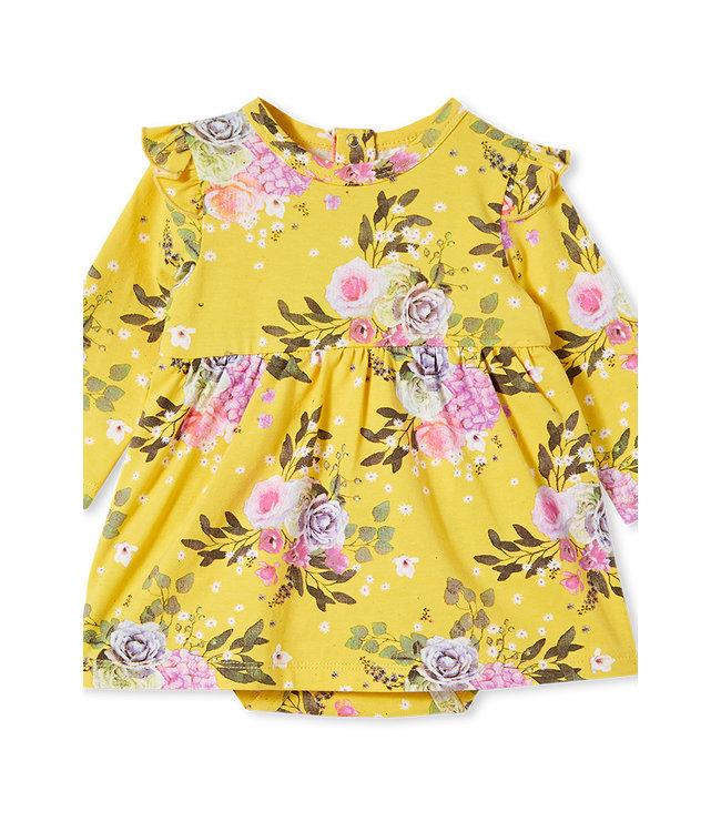 Milky VINTAGE BABY DRESS - MIMOSA