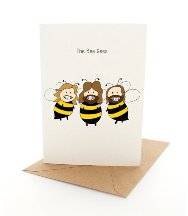 THE BEE GEES CARD