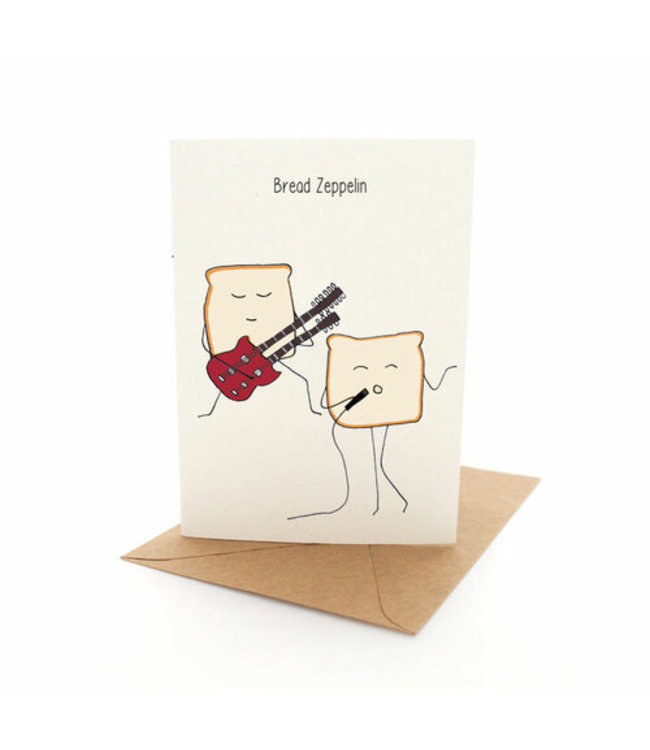 BREAD ZEPPELIN CARD