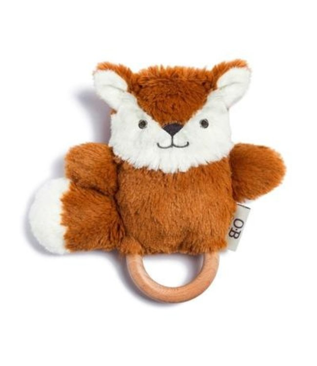 FRANKIE THE FOX - WOODEN TEETHER