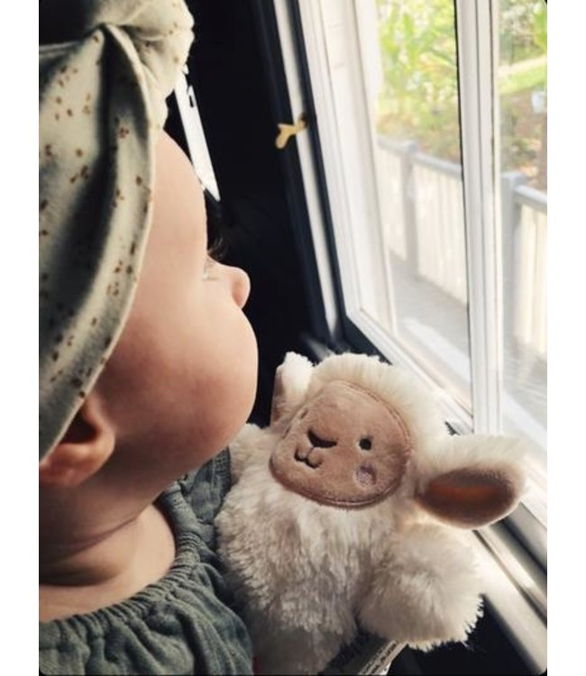 LEE THE LAMB - WOODEN TEETHER