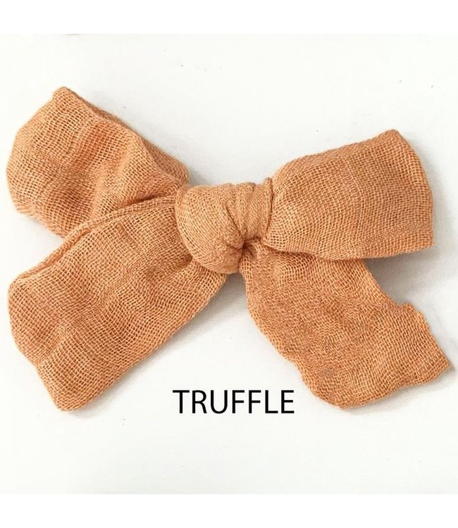 SADIE BOW - TRUFFLE