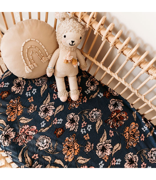 SNUGGLE HUNNY KIDS BELLE - BASSINET SHEET/CHANGE PAD COVER