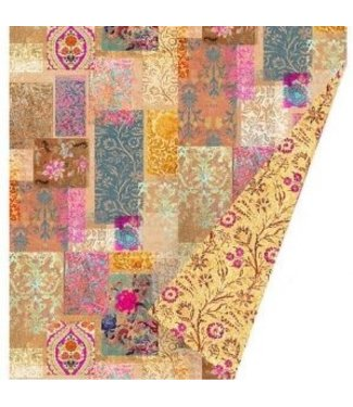 Anna Chandler Designs VENEZIA GOLD - VELVET THROW