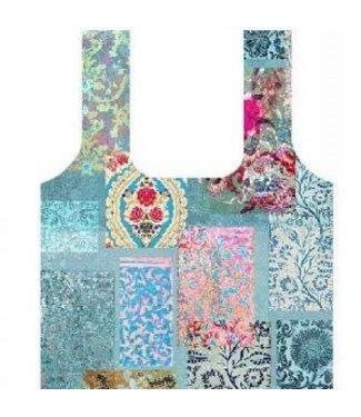 Anna Chandler Designs VENEZIA TURQUOISE - FOLD UP BAG