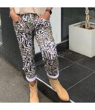 MARGOT KHAKI JUNGLE PANTS