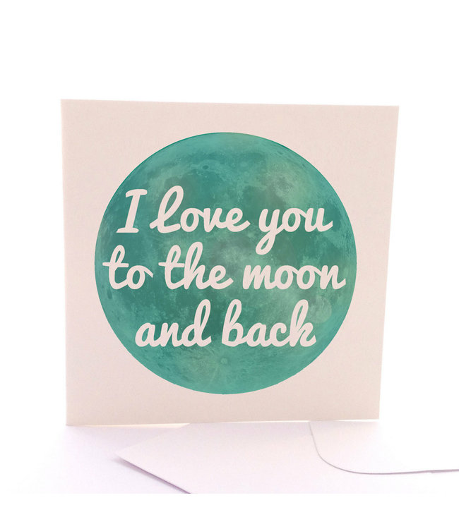 TO THE MOON & BACK CARD