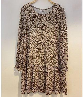 ISOBEL LEOPARD DRESS
