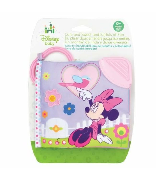 MINNIE MOUSE SOFT BOOK