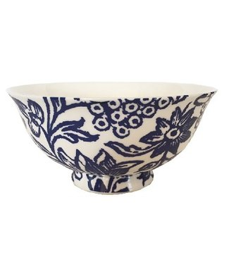 Anna Chandler Designs INDIGO BONE CHINA BOWLS - SET OF 4