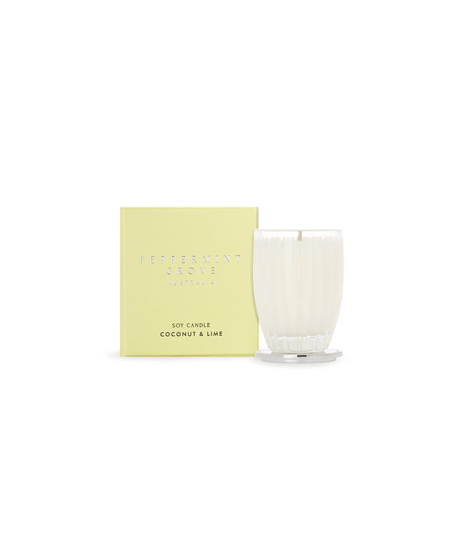 PEPPERMINT GROVE COCONUT & LIME CANDLE  60g