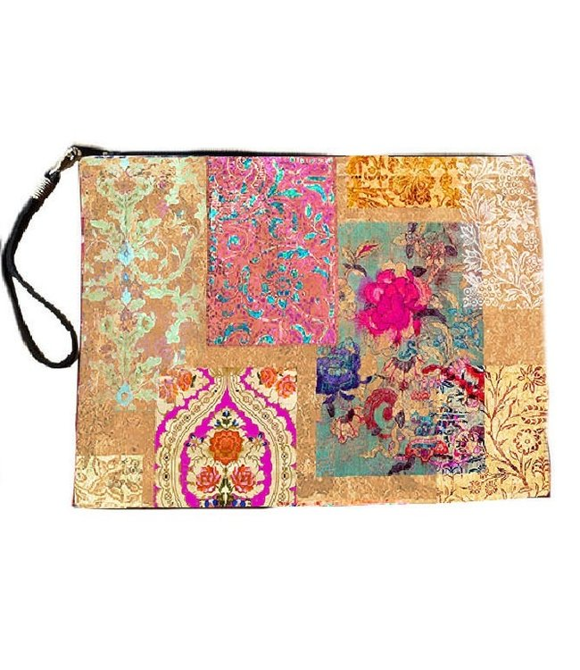 Anna Chandler Designs VENEZIA GOLD - CLUTCH BAG
