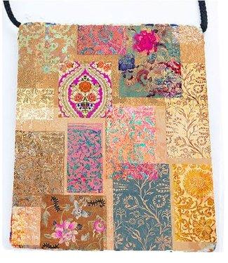 Anna Chandler Designs VENEZIA GOLD - VELVET BAG