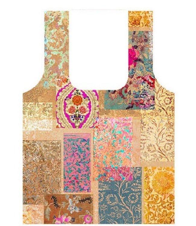 Anna Chandler Designs VENEZIA GOLD - FOLD UP BAG