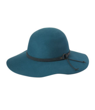FOREVER AFTER - LADIES HAT - BLUE PEACOCK