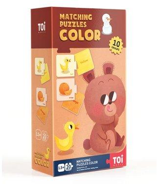 MATCHING PUZZLES - COLOUR