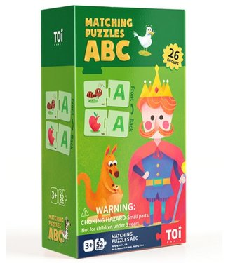 MATCHING PUZZLES - ABC