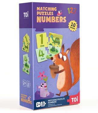 MATCHING PUZZLES - NUMBERS