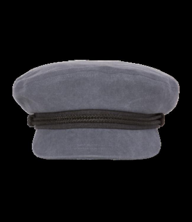 MENS FISHERMAN CAP-ANCHOR-DENIM