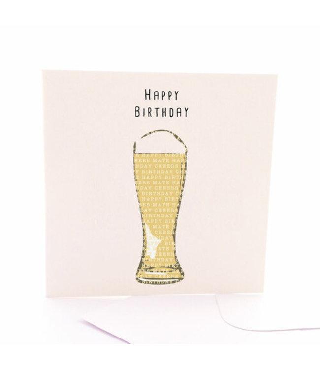 HAPPY BIRTHDAY BEER CARD