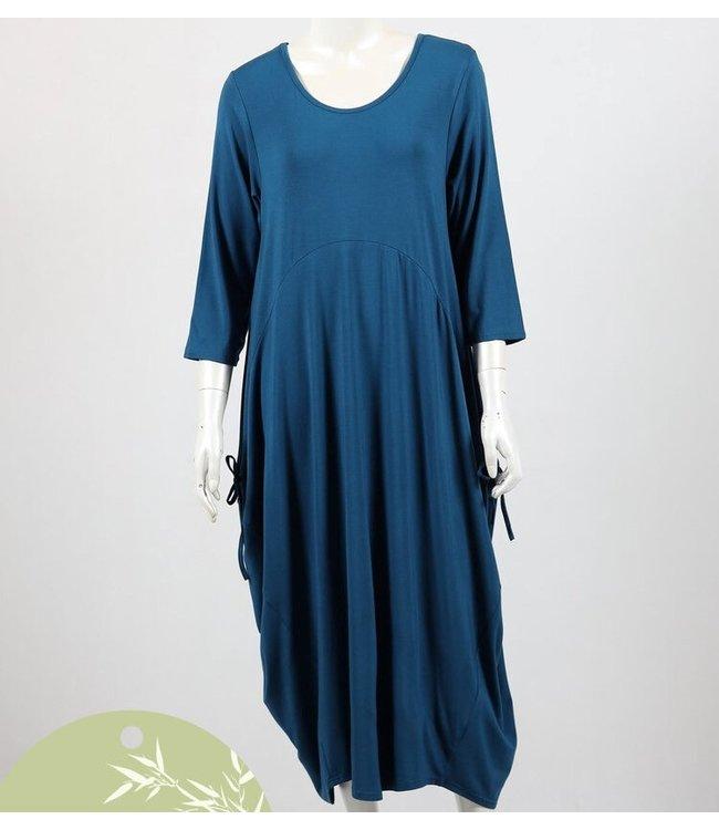 ADELAIDE BAMBOO DRESS - TEAL