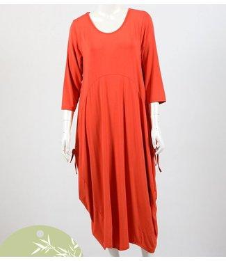 ADELAIDE BAMBOO DRESS - TANGERINE