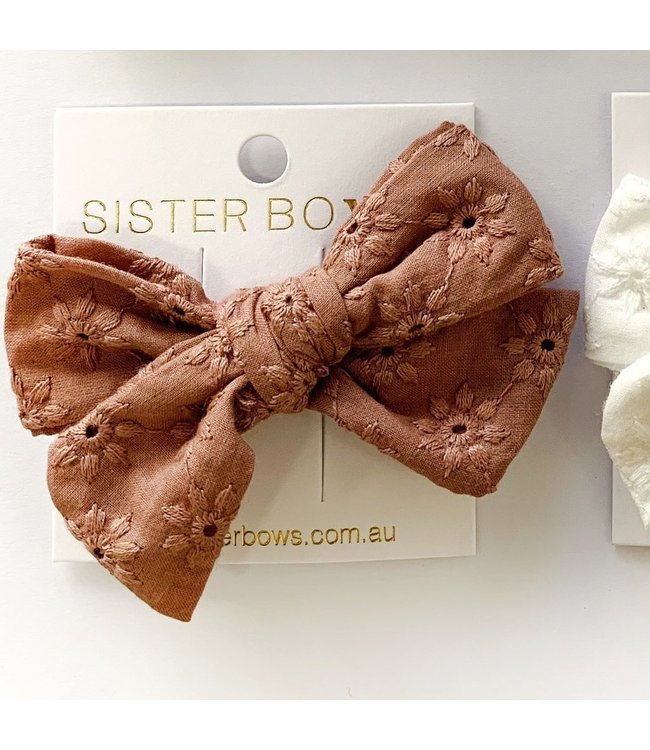 Sister Bows BRODIE BOW - MOCHA