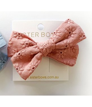 Sister Bows BRODIE BOW - ROSEWOOD