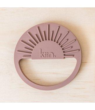 kiin SUNRISE SILICONE TEETHER - HEATHER