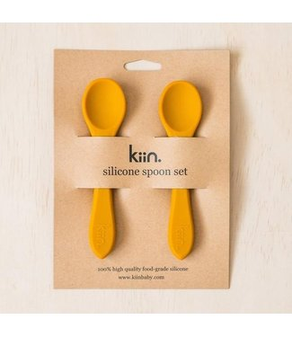 kiin SILICONE SPOON TWIN PACK - COPPER