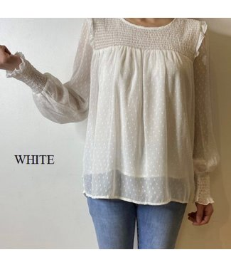 ANGELICA TOP - WHITE