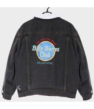 BILLY BONES CLUB HARD KNOCKS SHERPA DENIM JACKET