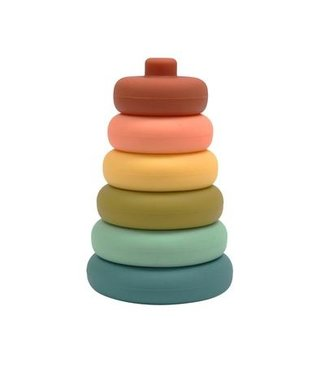 SILICONE STACKER TOWER-CHERRY