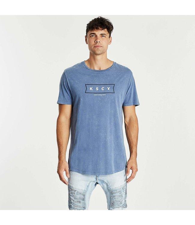 KSCY HONORARY DUAL CURVED TEE - ACID BLUE