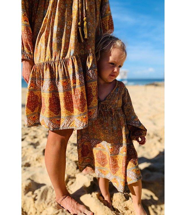 ZANIBODA POSY MINI KIDS DRESS - AUTUMN