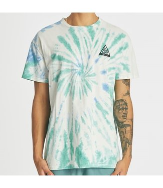 NOMADIC PARADISE SPIRAL RELAXED TEE-TIE DYE BLUE