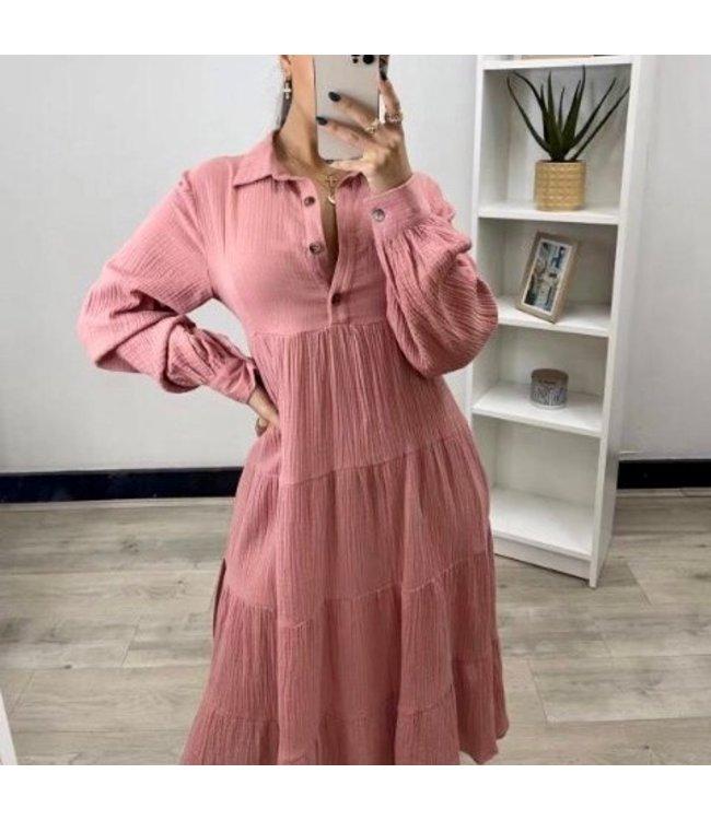 DIOR DRESS - ROSE PINK