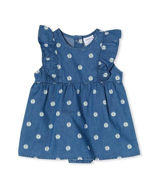 Milky DAISY BABY DRESS
