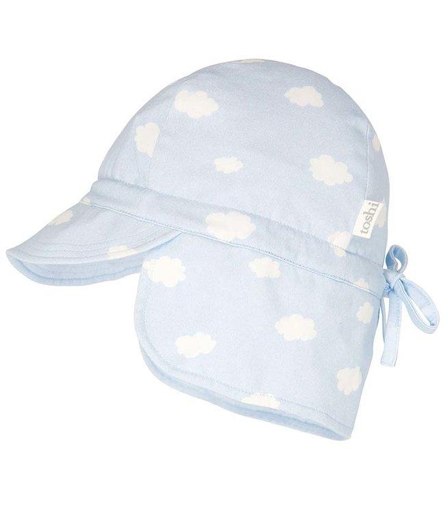 Toshi FLAP CAP BAMBINI - CLOUDS